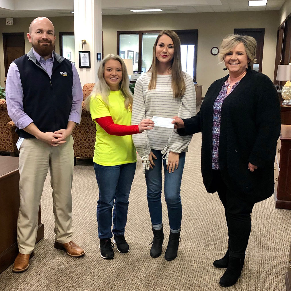 Rotaract Club Raises $800 for Scottsboro Fire Victims Fund
