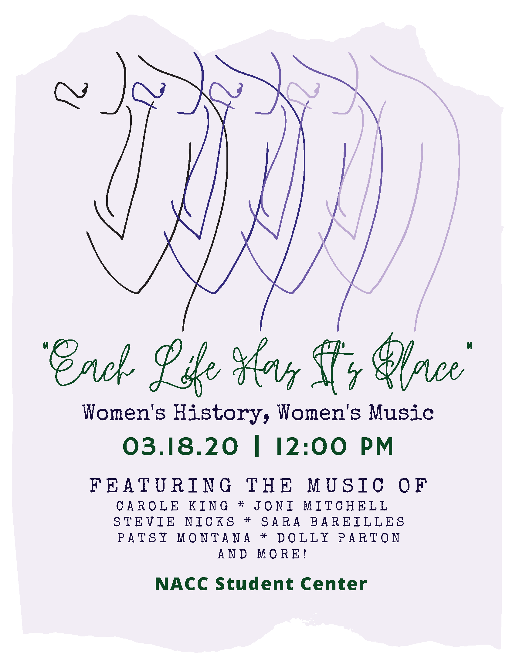 NACC Music Concert to Celebrate Women's History Month