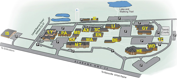 Campus Map - Wallace Administration