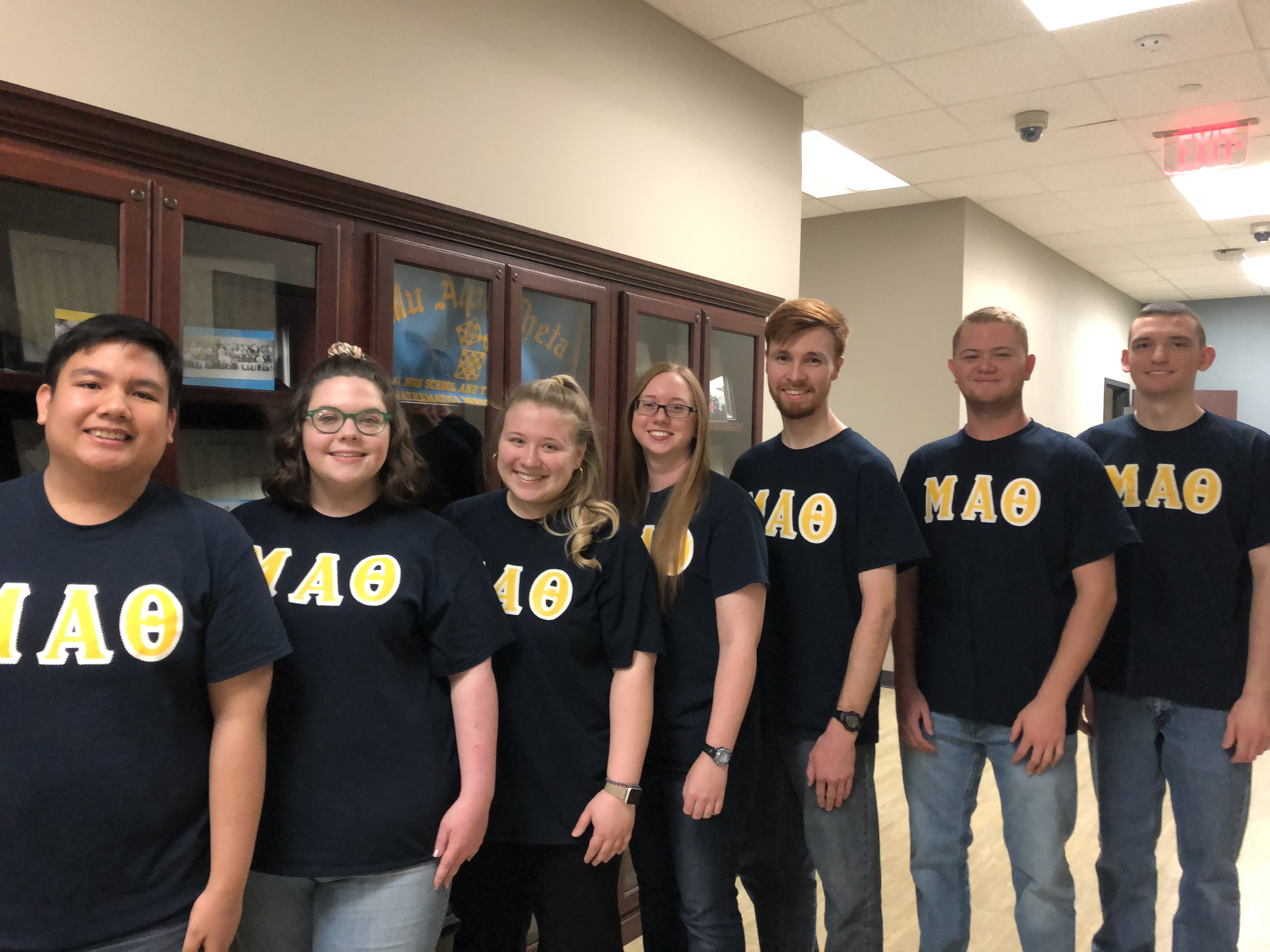 2020-21 NACC Mu Alpha Theta officers