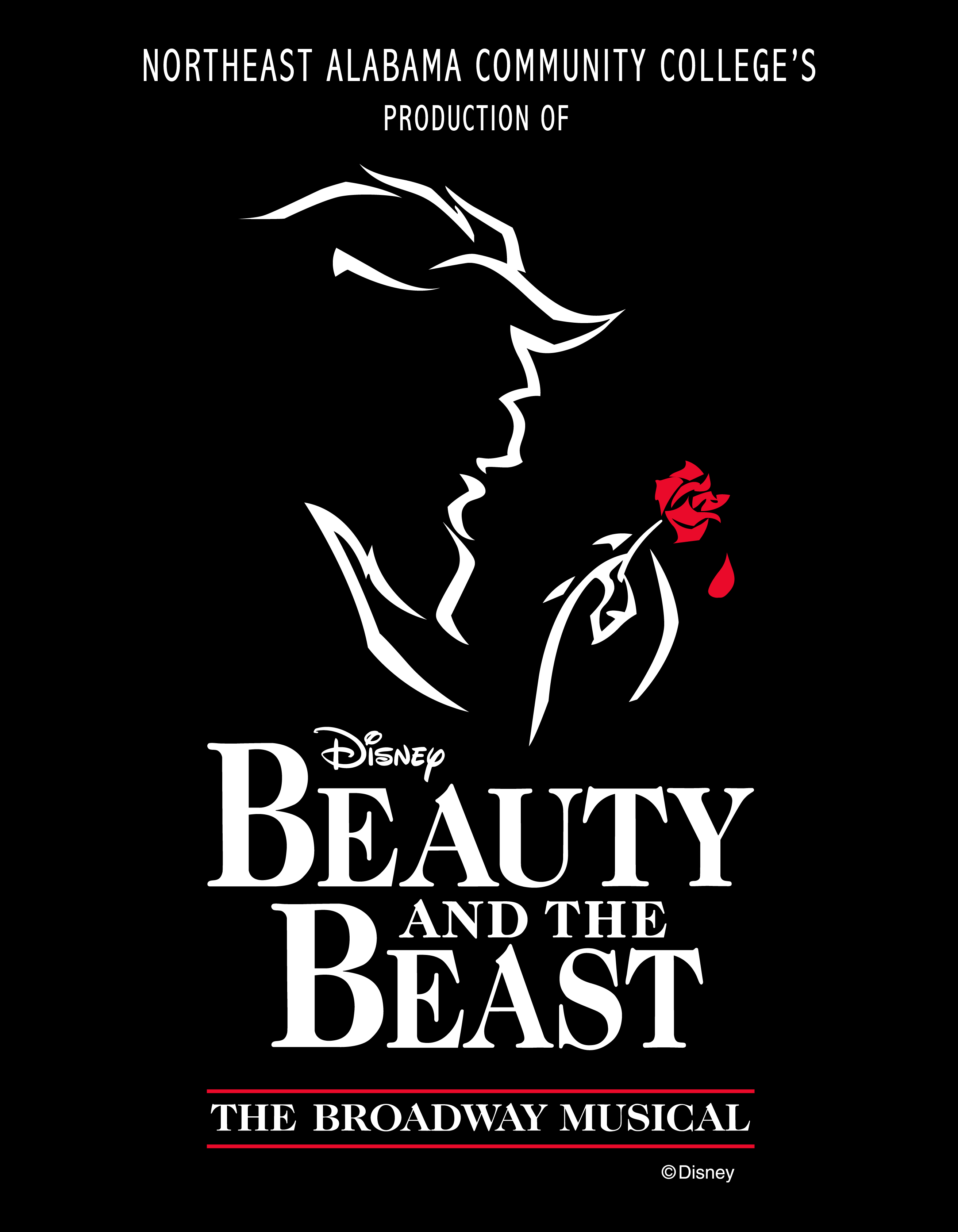 Beauty and the Beast Program Cover