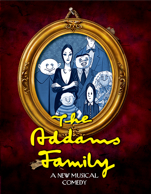 Program Cover for The Addams Family