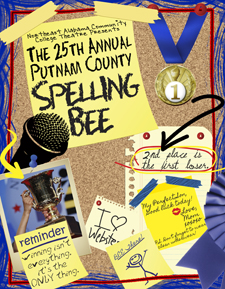 25th Annual Putnam Spelling Bee Poster