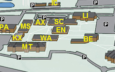 Campus & Parking Map